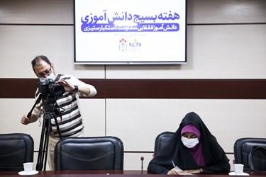 حضور اصحاب رسانه در نشست رسانهای هفته بسیج دانشآموزی
