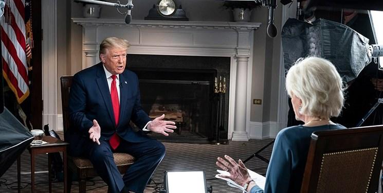 فیلم  عصبانیت ترامپ از سوالات مجری «سی بی اس» و ترک مصاحبه