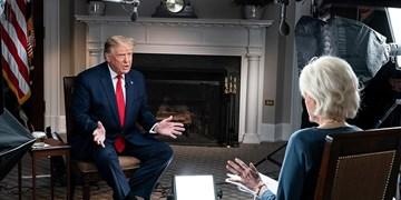 فیلم| عصبانیت ترامپ از سوالات مجری «سی بی اس» و ترک مصاحبه