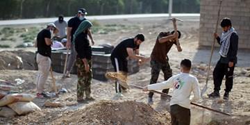 اردوی جهادی در  روستاهای غیزانیه