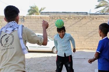 جنبهویژه کار گروه جهادی فعالیت فرهنگی است هر چند حضور جهادگران به تنهایی اثرات فرهنگی خاص خود را دارد ولی بازی با نوجوانان روستا بخش کوچکی از فعالیت آنها است