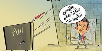 ماکرون خودش گفت!/ «هولوکاست۳» در راه است+کاریکاتور
