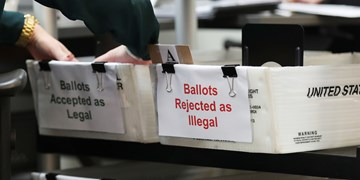 دومین صندوق رأیگیری در آمریکا به آتش کشیده شد