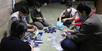 لبیک دانشآموزان دهه هشتادی شیراز به دعوت رهبری برای مبارزه با کرونا