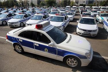 استفاده از ظرفیت پلیس راهور در اجرای طرح مشترک امنیت سلامت محور در سطح شهر تهران