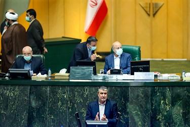 سخنرانی محمد اسلامی وزیر راه و شهرسازی در جلسه علنی مجلس /6 آبان 99