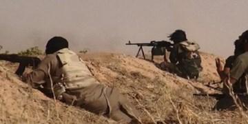 درگیری شدید ارتش سوریه و عناصر داعش در مناطق بیابانی