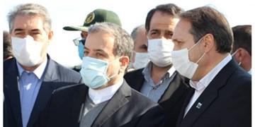 حضور معاون سیاسی وزیر امور خارجه در خداآفرین/ بازدید میدانی از مرزهای شمال غرب