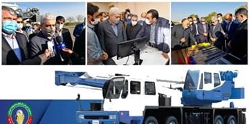 رونمایی از خودروهای کشنده سنگین و جرثقیل تلسکوپی با حمایت صندوق نوآوری و شکوفایی