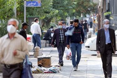 ماسک بی ماسک / میدان فردوسی ابتدای خیابان انقلاب