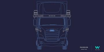 گوگل و دایملر کامیون خودران می سازند