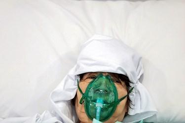 بخش ویژه کرونای بیمارستان بوعلی قزوین