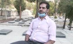 فیلم| بدون تعارف با جانباز جامانده از تله انفجاری منافقین