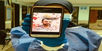 فتوکلیپ| ادای احترام مدافعان سلامت به شهدای مدافع حرم خانطومان