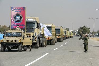 خودروی فوق سنگین تانکبر تاکتیکی  از دستاوردهای بازسازی شده نیروی زمینی ارتش