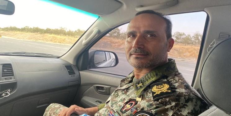 ارشد نظامی ارتش جمهوری اسلامی ایران در استان مرکزی آسمانی شد