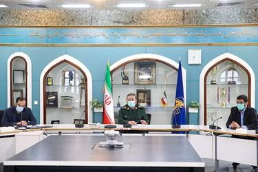 سخنرانی سردار غلامرضا سلیمانی رئیس سازمان بسیج مستضعفین در نشست «اعلام آغاز مرحله سوم نهضت کمک مؤمنانه»