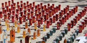 کشف ۵۵۰ قوطی مشروبات الکلی در قشم