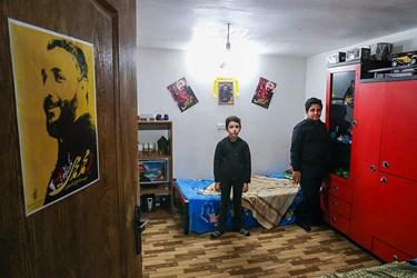 اتاق فرزندان  شهید امر به معروف محمد محمدی