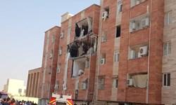 انفجار شدید مجتمع مسکونی  در بندرماهشهر