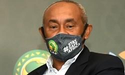 رئیس کنفدراسیون فوتبال آفریقا کرونا گرفت