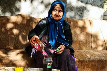 رب انار، شیره انار (سس انار) و آب انار از محصولات فرآوری شده روستاست که به شکل سنتی تهیه میشود