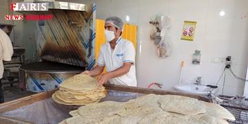 فعالیت نانواییهای زنجان 2 شیفته میشوند