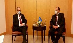 نشست وزیر امور خارجه ترکمنستان با نماینده سازمان ملل