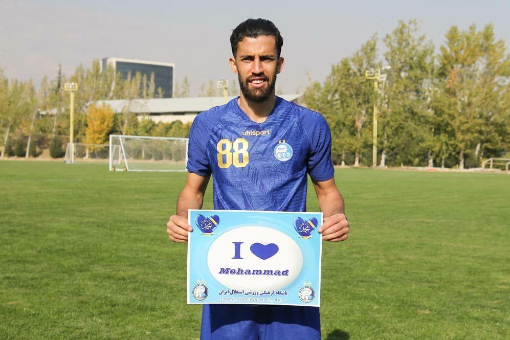 بازیکنان استقلال توهین به پیامبر اعظم(ص) را محکوم کردند+عکس