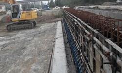 رشد 34 درصدی احداث «پل بدآب شفت» در کمتر از دو ماه