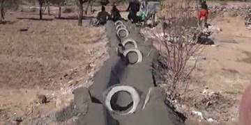 ساخت 4 هزار مترمربع کانال آبیاری توسط قرارگاه آبادانی سپاه در بهاباد