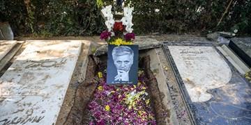 خاکسپاری زنده یاد احمد نصیرپور