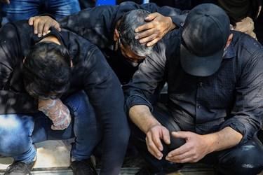 وداع دوستان و خانواده با مرحوم  احمد نصیرپور عکاس پیشکسوت خبری