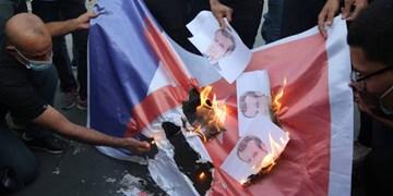 تظاهرات ضدفرانسه؛ مردم «مالی» هم تصاویر ماکرون را آتش زدند