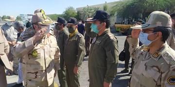 حضور فرمانده ناجا در سیستان و بلوچستان