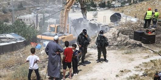 ارتش رژیم صهیونیستی 11 خانه متعلق به فلسطینیان را تخریب کرد