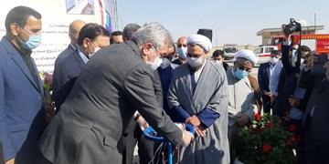 افتتاح طرح آبرسانی پایدار به سرخه/ پروژه ۱۱۰ میلیارد تومانی با حضور وزیر نیرو عملیاتی شد