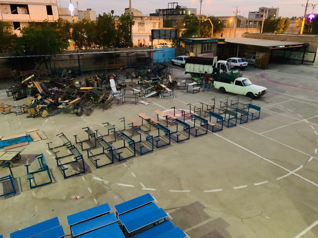 یک ایده ناب جهادی| تعمیر و نوسازی ۱۹ هزار نیمکت مدرسه