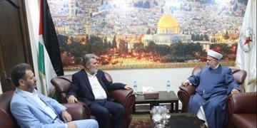 تأکید بر مقاومت مسلحانه در دیدار دبیرکل جهاد اسلامی با سران حزب لبنانی