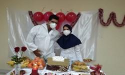خبرخوب| وقتی گان بیمارستانی لباس عروس میشود