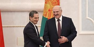 لوکاشنکو: ایران یکی از مهمترین شرکای بلاروس است