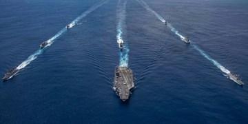 آغاز رزمایش دریایی بزرگ هند با آمریکا، ژاپن و استرالیا