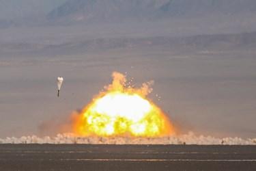 لحظه اصابت موشکها به اهداف از پیش تعیین شده