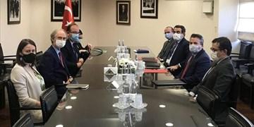 دیدار فرستاده سازمان ملل در امور سوریه با معاون وزیر خارجه ترکیه