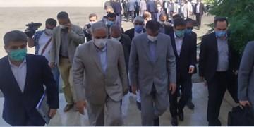وزیر راه و شهرسازی وارد کنارک شد