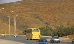 ترافیک سنگین در آزادراه قزوین-کرج و تردد روان در محورهای شمال/بارش در جاده های پنج استان