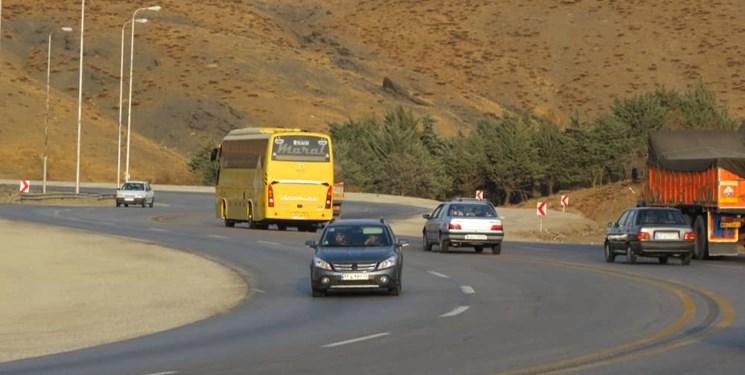 کاهش ۴۰ درصدی تردد در جادههای همدان