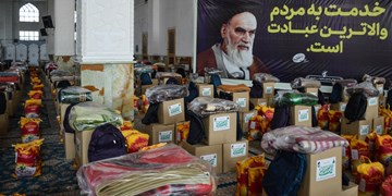 فیلم| کمکهای مؤمنانه در قبله تهران ادامه دارد/ از تهیه تبلت دانشآموزان تا جهیزیه نوعروسان