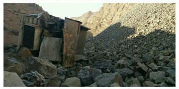 حادثه در جاجرم جان ۲ کارگر معدن را گرفت