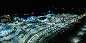 آئین افتتاح محل دائمی نمایشگاههای بینالمللی اصفهان